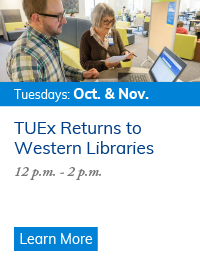 Join us for TUEx: User Experience Tuesdays