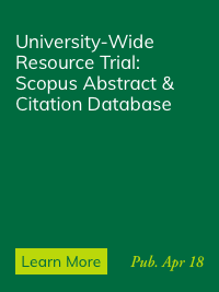 Trial Access to Scopus Now Available
