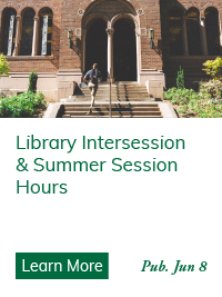 Library Intersession & Summer Hours