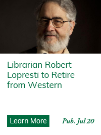 Librarian Robert Lopresti to Retire from Western