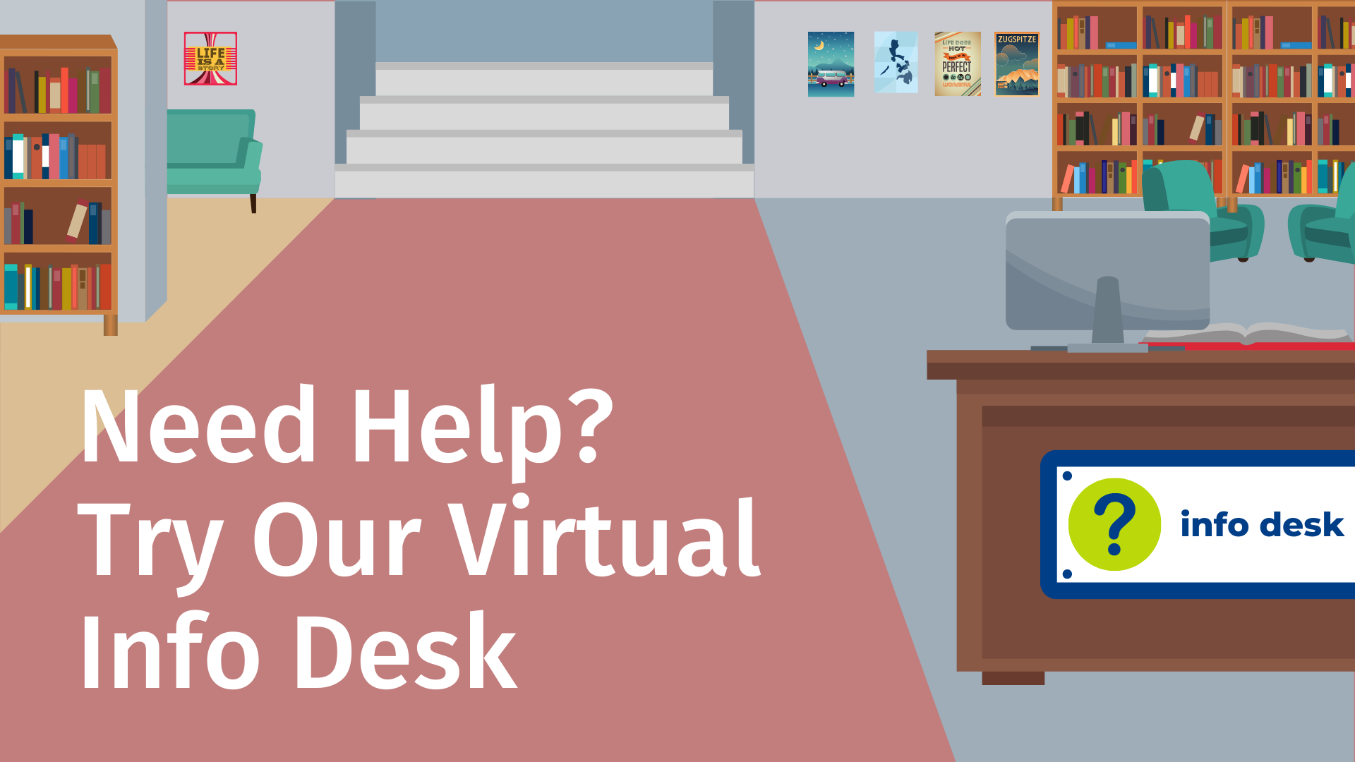 Virtual Library Graphic