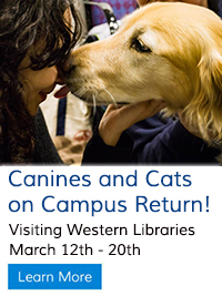 Current News - Canines & Cats on Campus Return!