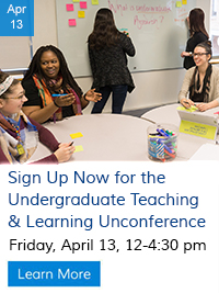 Undergraduate Teaching & Learning Unconference