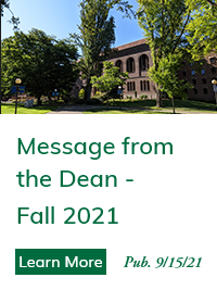 Message from the Dean - Fall 2021