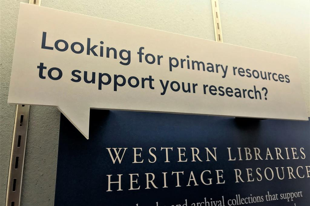Western Libraries Heritage Resources
