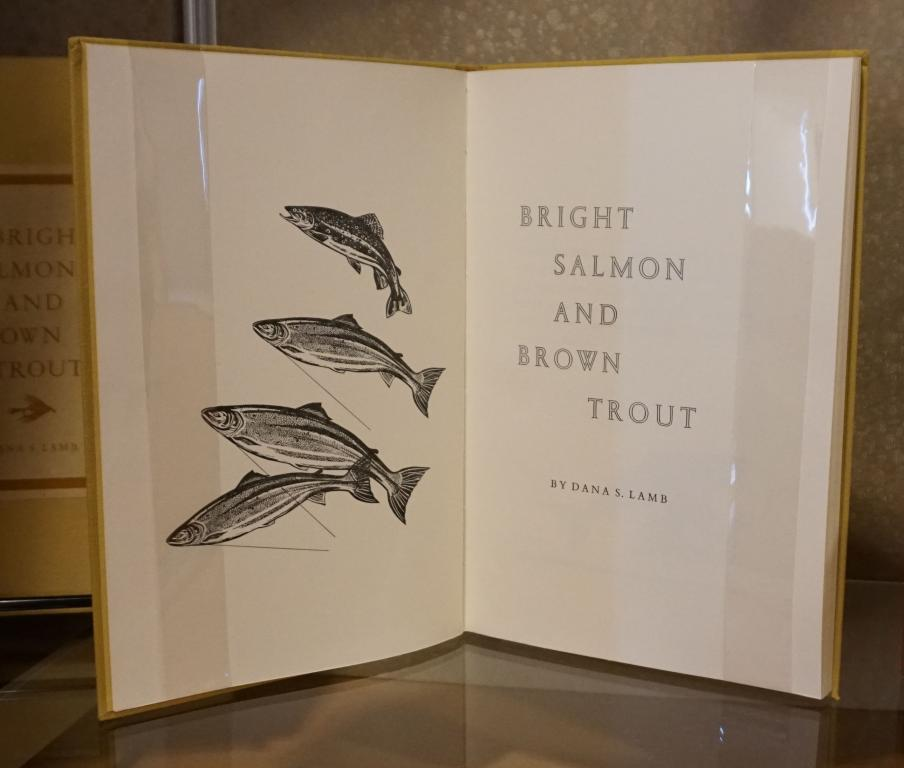 Image of book Bright salmon and brown trout by Dana Lamb