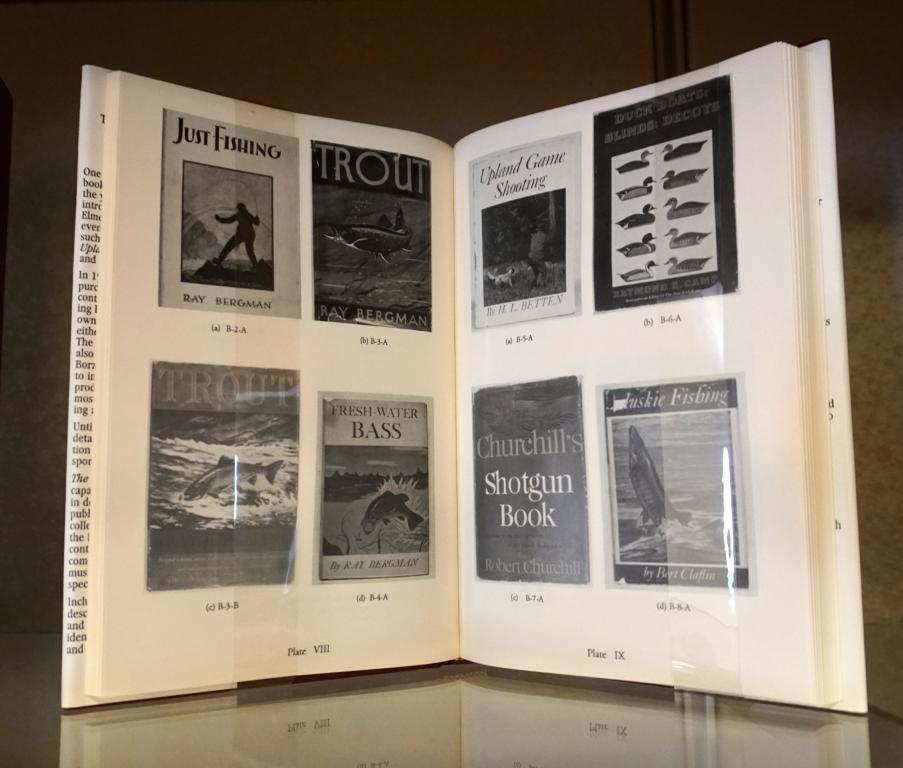 Image of interior pages of book, The Borzoi Books for Sportsmen