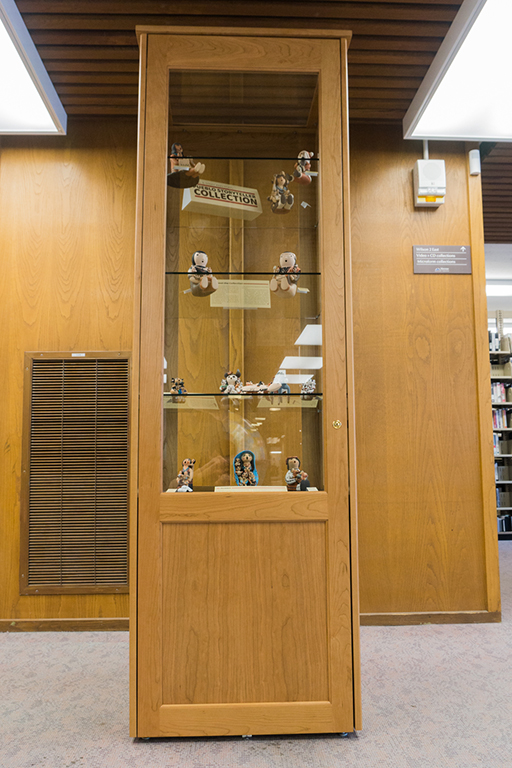The Paul and Mary Ann Ford Pueblo Storyteller Collection - Display Case