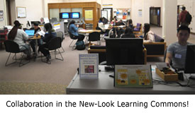 Collaboration in the new-look Learning Commons