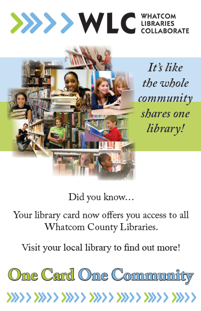 Library One Card Poster