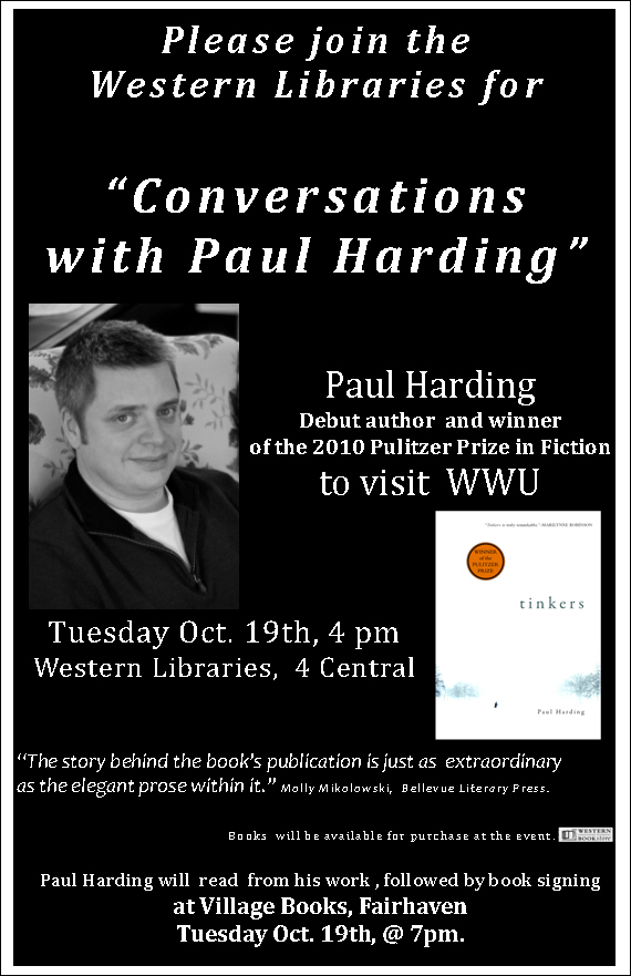 Pulitzer Prize Winning Author to Visit WWU Libraries