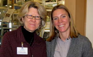 Beth Joffrion and Polly Myers