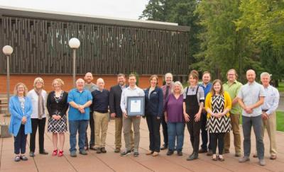 Members of the WWU MABEL Team, recipients of the WWU 2019 Team Recognition Award