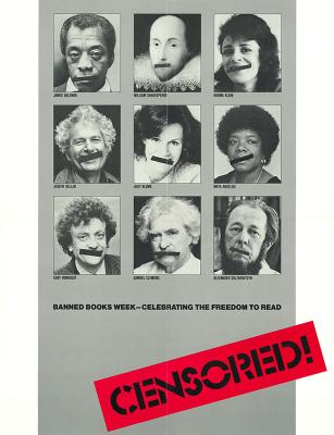 Banned Books Week poster - Censorship