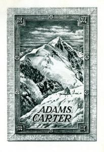 Book cover for Adams Carter