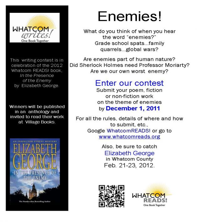 Whatcom Writes writing contest