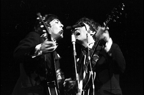 The Beatles in Seattle, 1966, Wallie V. Funk Photographs, CPNWS
