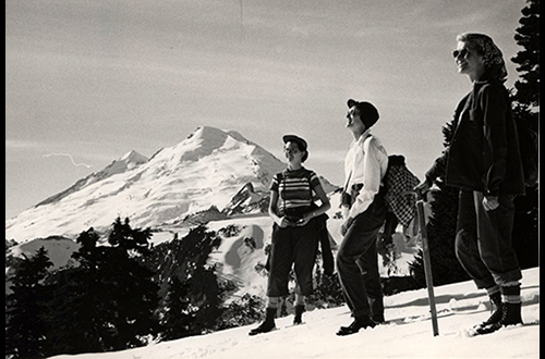 Mount Baker hikers, 1954, UARM