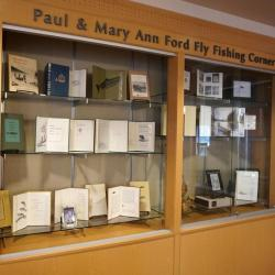 Paul and Mary Ann Ford Fly Fishing Collection corner photo