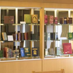View of the two display cases in full (Case 05 and 06)