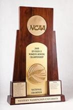 2005 NCAA Division II Women's Rowing Championship trophy