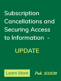 Subscription Cancellations and Securing Access to Information