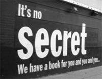 no secret sign